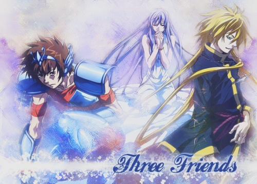 [AMV] Three friends
