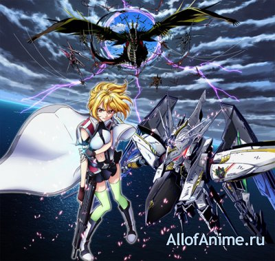 Кросс Энджи: Рондо Дракона и Ангела / Cross Ange: Tenshi to Ryuu no Rondo (2014)